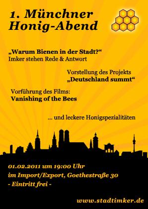 1. Münchner Honig-Abend